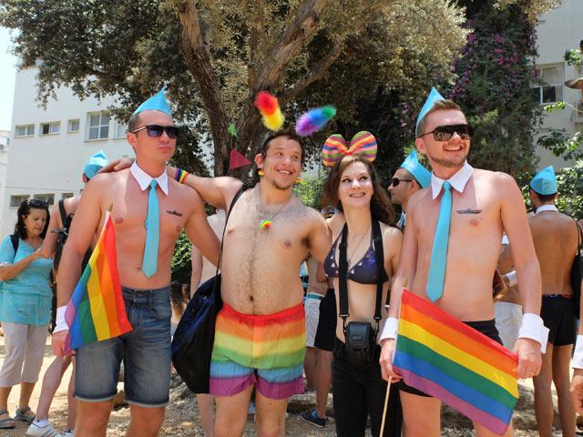 В Израиле прошел масштабный гей-парад. геи. Сержантс: половина секретных д